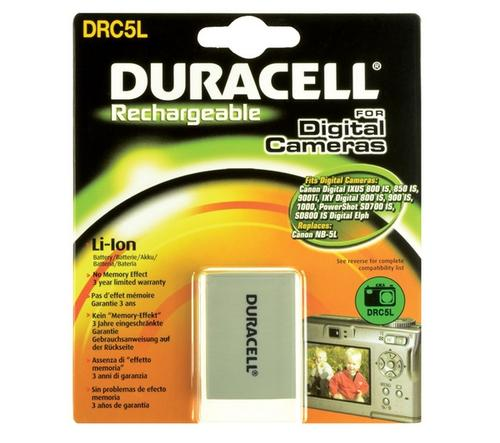Duracell Canon NB-5L Camera Battery