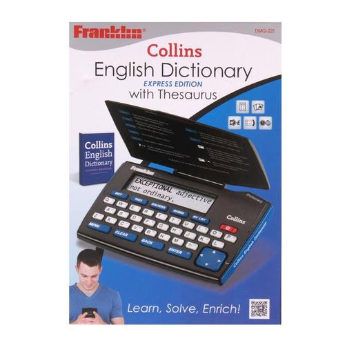 Franklin Collins English Dictionary with Thesaurus