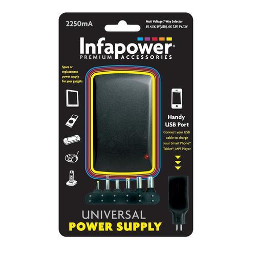 Infapower 2250mAh Universal Power Supply