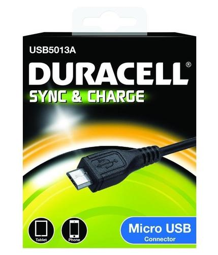Duracell Micro USB Data Charging Cable