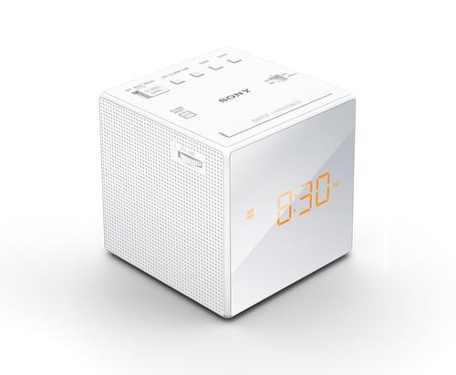 Sony FM/AM Clock Radio - White