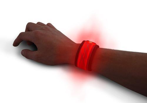 Universal B Seen LED Bracelet Light - Red