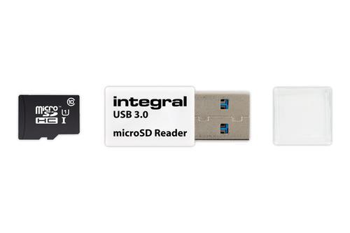 Integral USB 3.0 Micro SD Card Reader