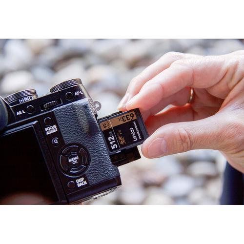 Lexar 128GB Professional SD Card (SDXC) - 95MB/s