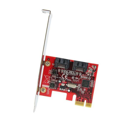 StarTech 2 Port SATA 6 Gbps PCI Express SATA Controller Card