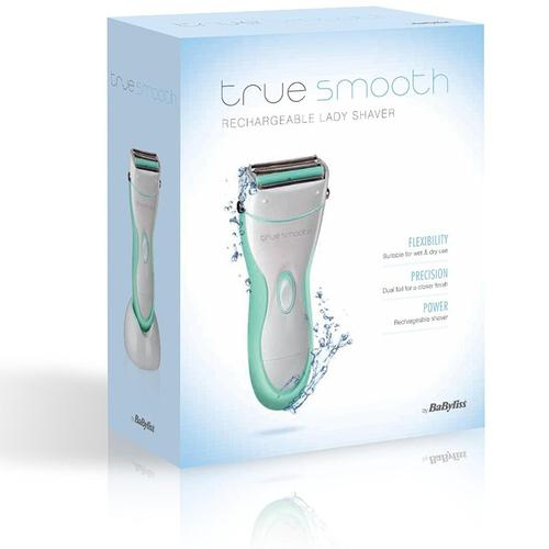 BaByliss TrueSmooth Rechargeable Lady Shaver (BA-8770BU)
