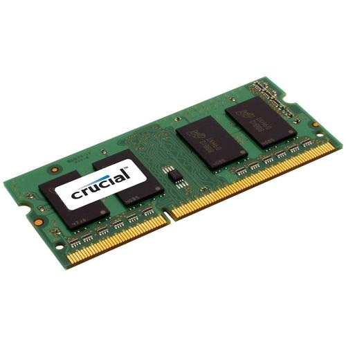 Crucial 4GB 1600MHz DDR3L 204-Pin Non-ECC CL11 SO-DIMM Laptop Memory Module