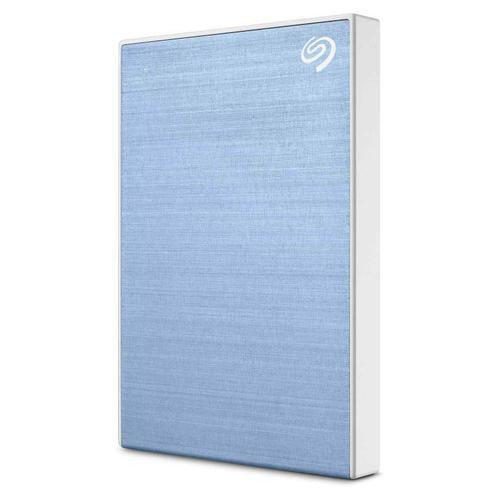 "Seagate 4TB Backup Plus 2.5"" USB 3.0 Portable HDD External Light Blue"