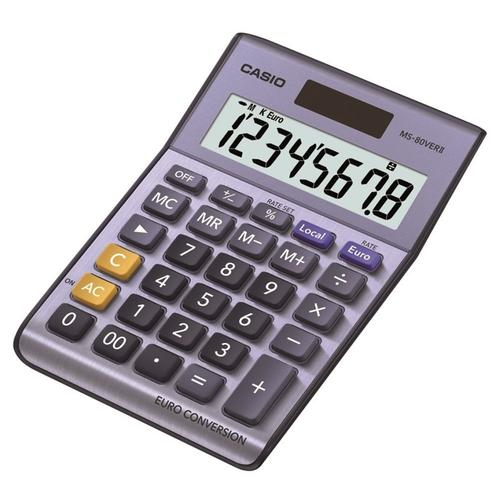 Casio 8 Digit Desk Calculator (MS-80VERII)