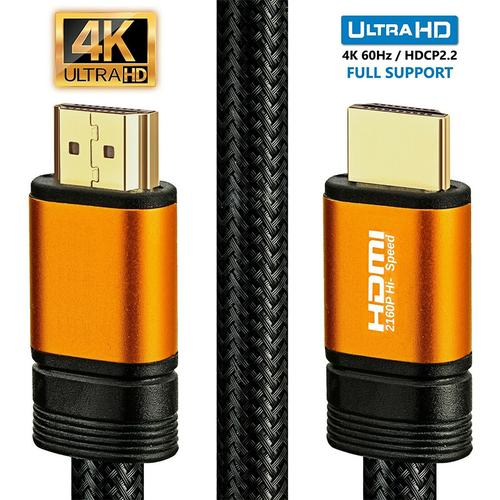 oneo PRO Gold Plated HDMI 2.0 UHD Cable 4K 60hz - 1.5M