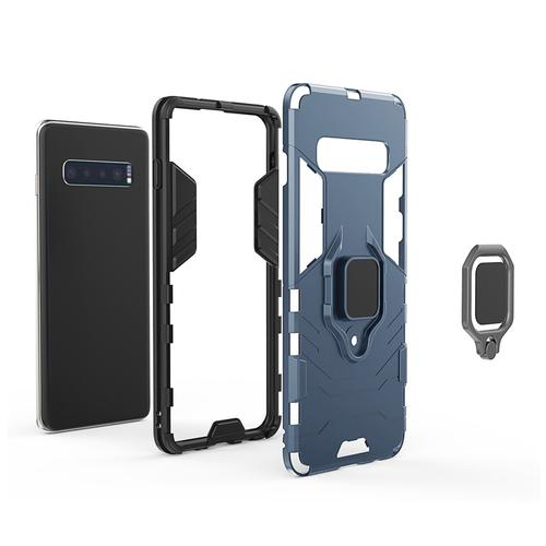 oneo ARMOUR Grip Samsung Galaxy S10 Plus Protective Case - Navy Blue