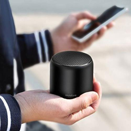 Anker SoundCore Mini 2 Wireless Bluetooth Portable Waterproof Speaker - Black
