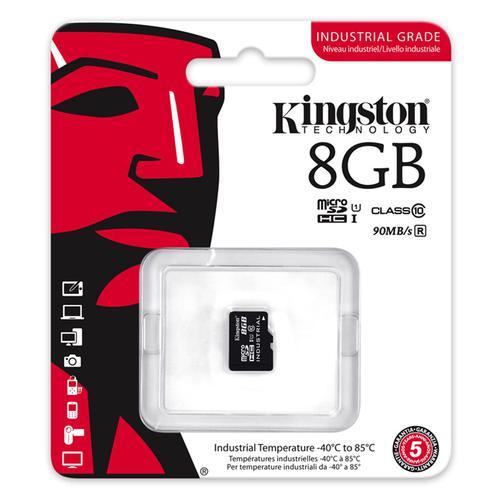 Kingston 8GB Industrial Micro SD Karte (SDHC) - 90MB/s