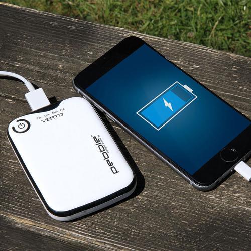 Veho Pebble Verto 3,700mAh Portable Power Bank (White)