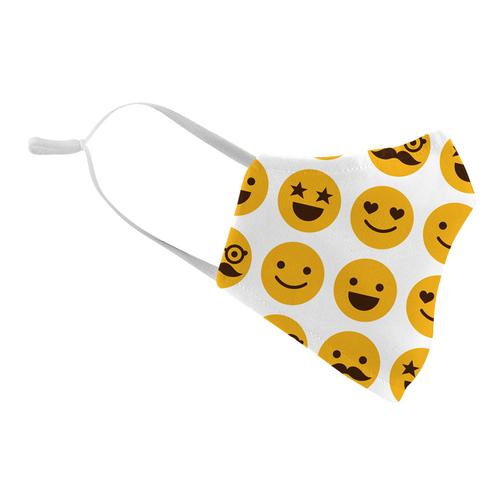 Washable Fashion Face Mask - Holds PM2.5 Filter - Emoji