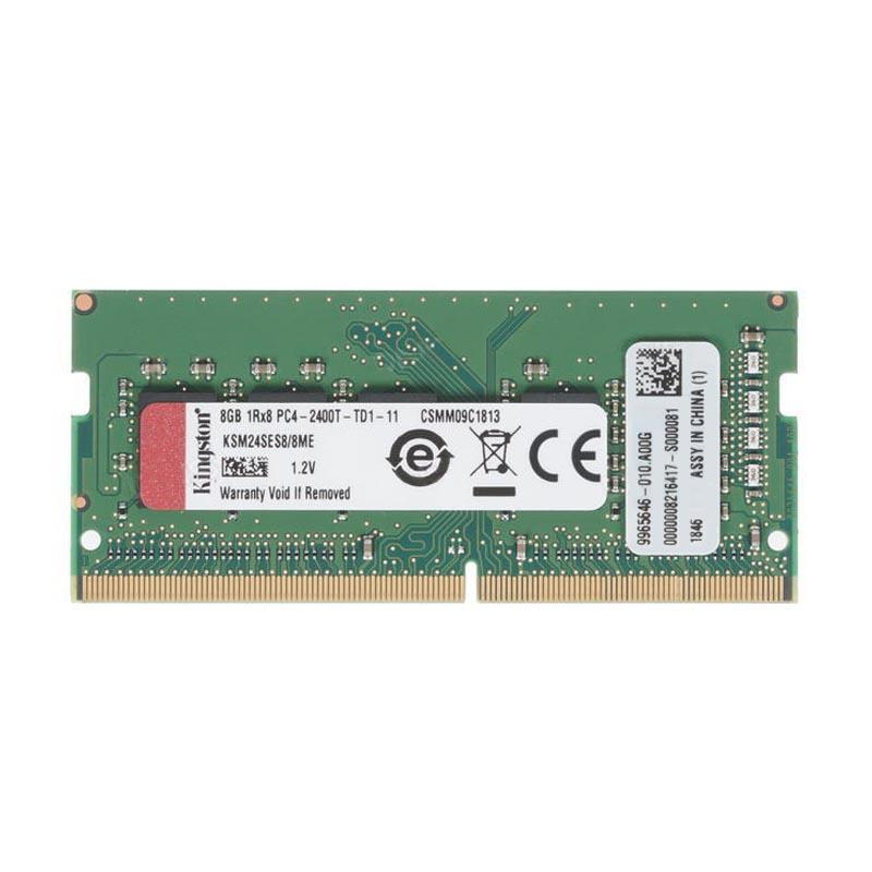 Kingston 8GB (1x8GB) 2400MHz DDR4 ECC 260-Pin CL17 SODIMM Server Memory Module