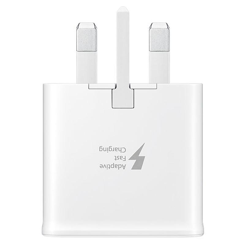 Samsung Galaxy 2A Mains Fast Charger + 1.2M USB-C Cable (FFP) - White