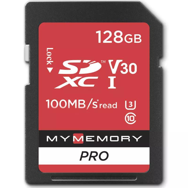 MyMemory 128GB V30 PRO SD Card (SDXC) UHS-1 U3 - 100MB/s