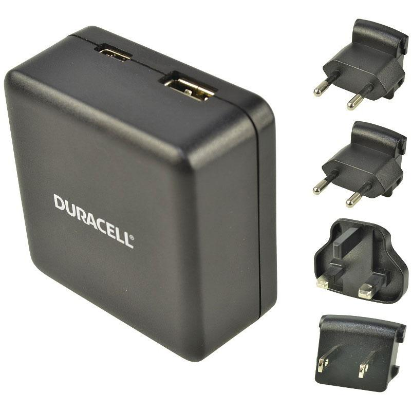 Duracell Type-C & Type-A Travel Charger