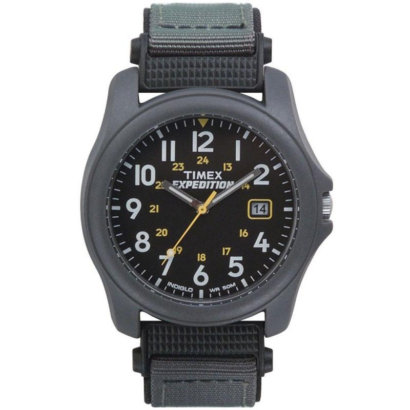 Timex Expedition Camper Unisex Nylon Strap Watch - Grey