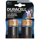 Duracell Ultra Power D Batteries - 2 Pack