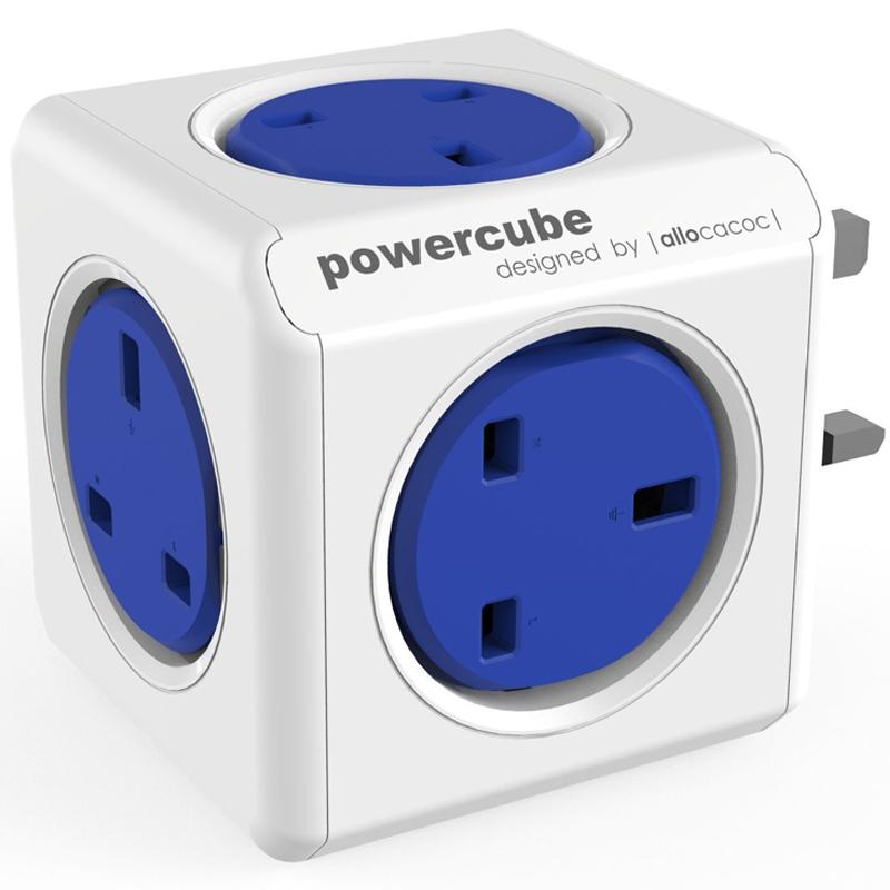 Allocacoc PowerCube Original - Blue