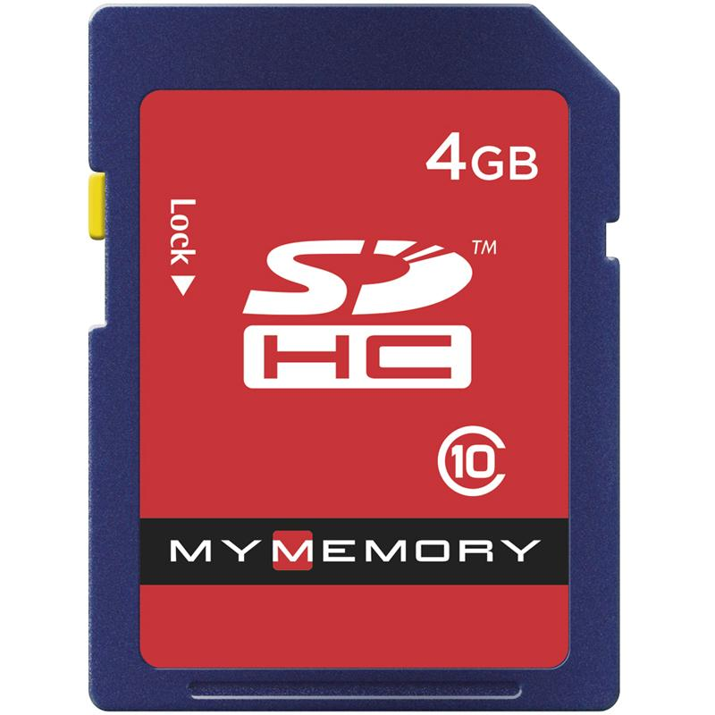 MyMemory 4GB SD Card (SDHC)