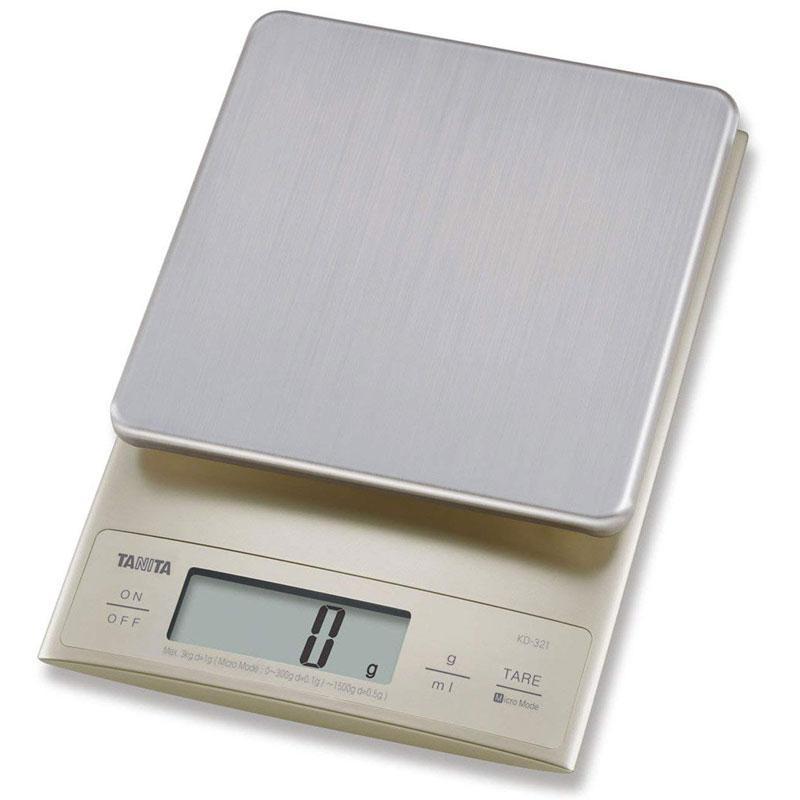 Tanita Digital Kitchen Scale 3Kg - Silver