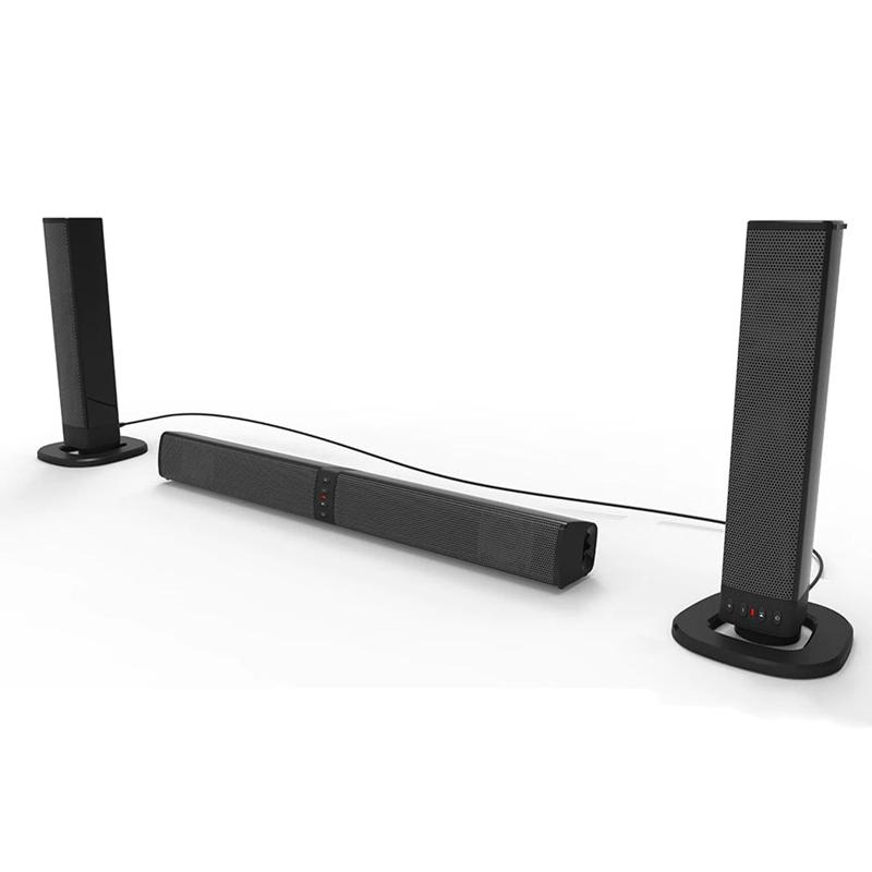 Multifunction BT Sound Bar Foldable and Detachable Home Speaker Theatre TV Sound Stereo