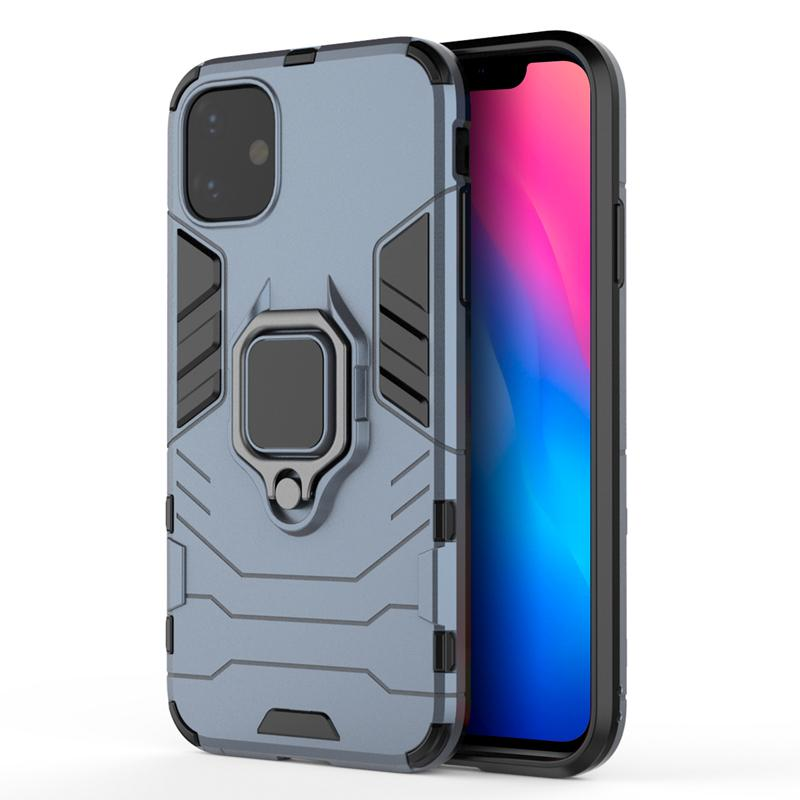 oneo ARMOUR Grip iPhone 11 Protective Case - Blue