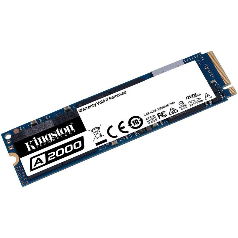 Kingston 500GB A2000 NVMe PCIe M.2 Internal SSD - 2200 MB/s