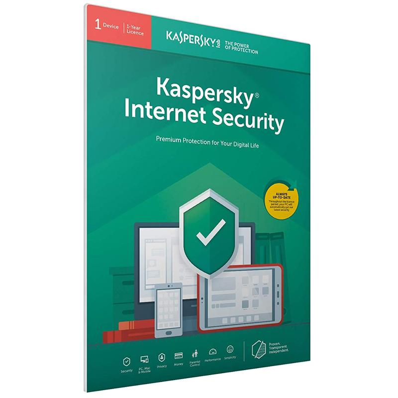 Kaspersky Internet Security 2021 (1 Device, 1 Year) FFP