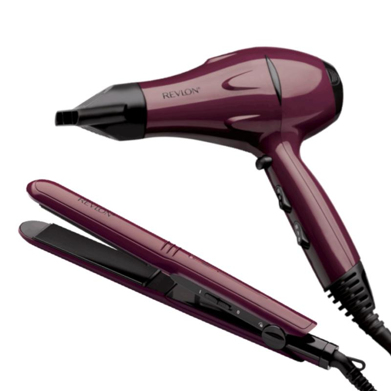 Revlon Essentials Frizz Control Styling Set 2000W Hair Dryer and Ceramic Styler