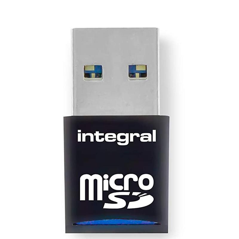 Integral USB 3.1 Single Slot Micro SD Card Reader - 180MB/s