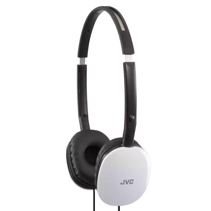 JVC Flats Headphones - White