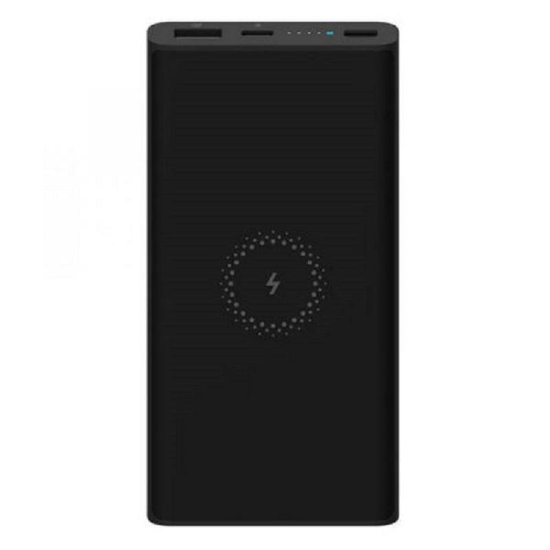 Xiaomi Mi 10000mAh Wireless Qi Power Bank 18W - Black
