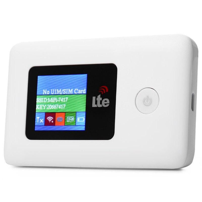 4G Mobile WiFi Router Unlocked Hotspot Modem 100 Mbps USB - White