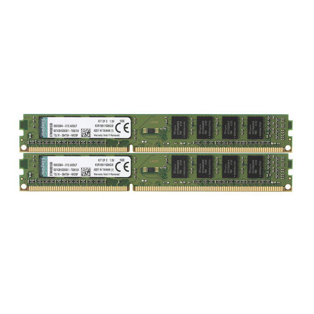 Kingston ValueRAM 8GB (2x4GB) 1333MHz DDR3 Non-ECC 240-Pin CL9 DIMM PC Memory Module