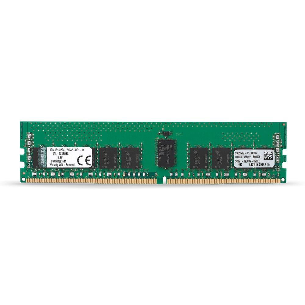 Kingston ValueRAM 4GB (1x4GB) 2400MHz DDR4 ECC 288-Pin CL17 DIMM Server Memory Module