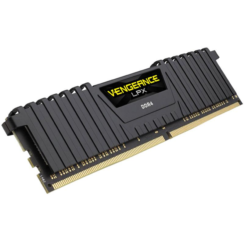 Corsair Vengeance LPX 8GB (1x8GB) 2666MHz DDR4 Non-ECC 288-Pin CL16 DIMM PC Memory Module - Black