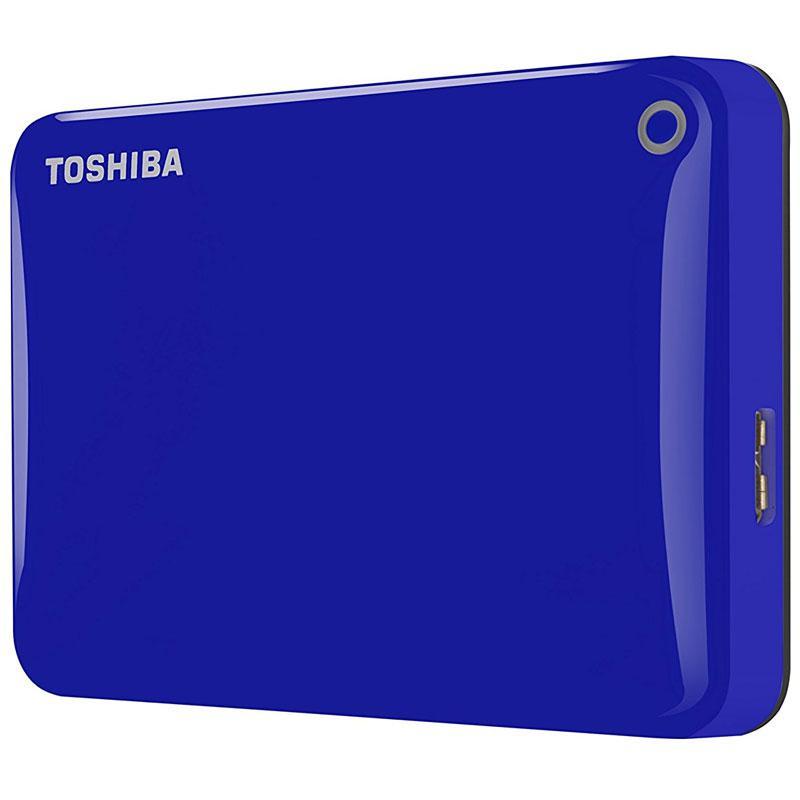 Toshiba 1TB HDD Canvio Connect II Portable HDD USB 3.0 - 5Gb/s - Blue