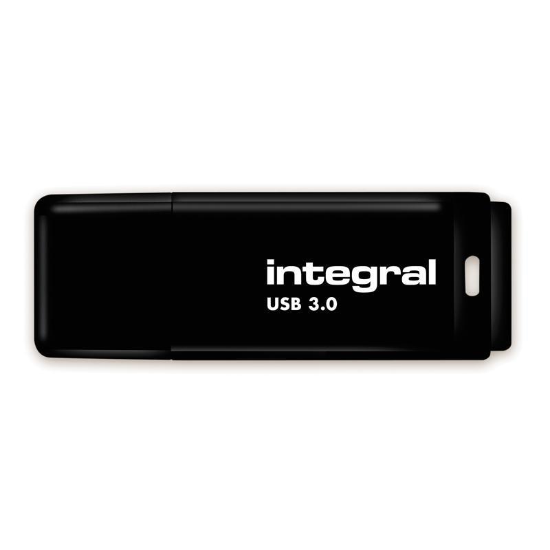 Integral 256GB Black USB 3.0 Flash Drive - 90MB/s