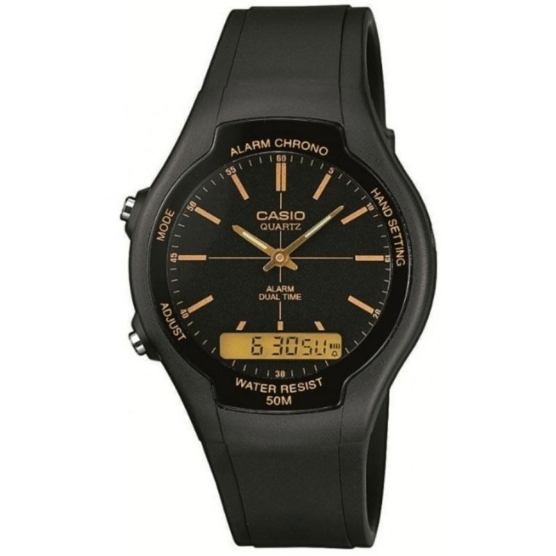Casio Men's Dual Display Watch - Black
