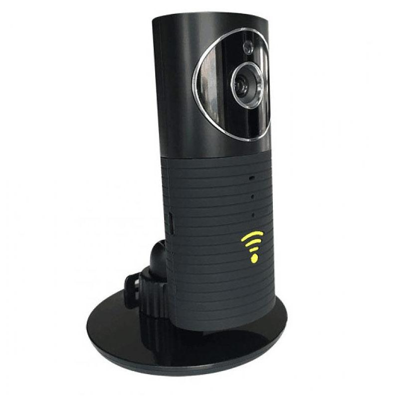 Clever Dog Panorama 180 ° View HD Home Security Camera - Black