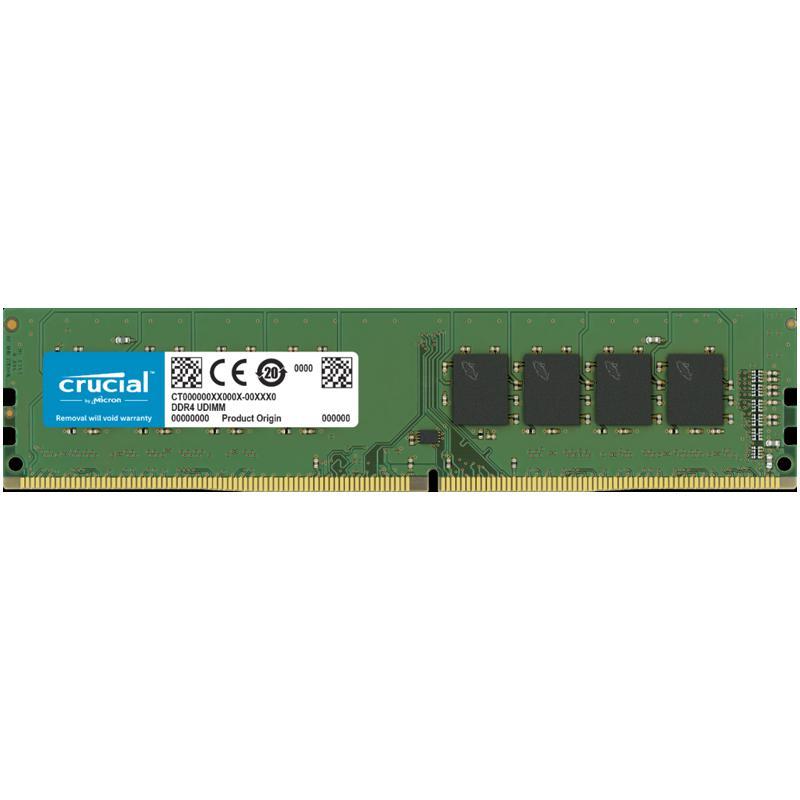 Crucial 8GB (1x8GB) 2666MHz DDR4 288-Pin Non-ECC CL19 DIMM PC Memory Module