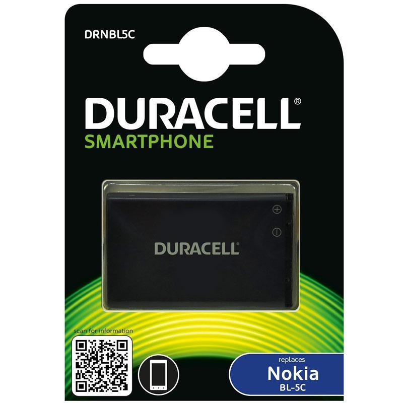 Duracell Nokia BL-5C & BL-5CB Smartphone Battery