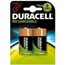 Duracell StayCharged 2200mAh C Rechargeable Batteries - 2 Pack
