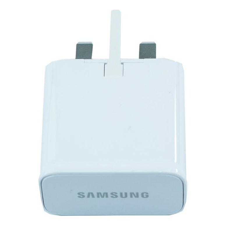 Samsung Galaxy 2A Mains Charger + 1M Micro USB Cable - White