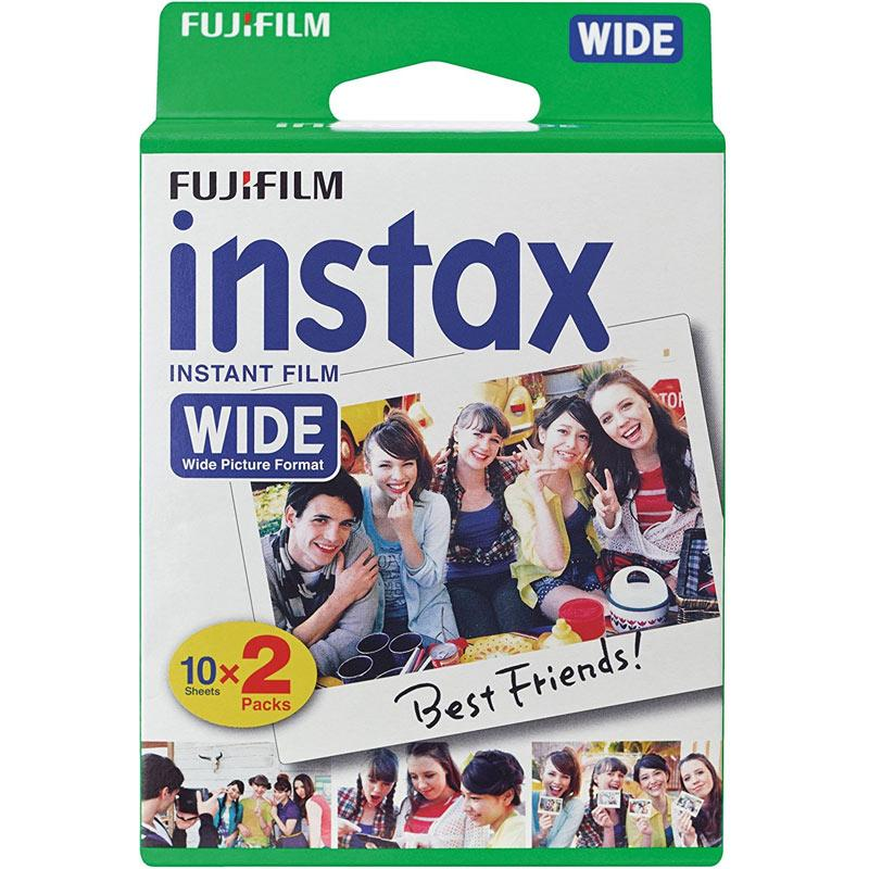 Instax Wide Film - Pack of 20 Shots