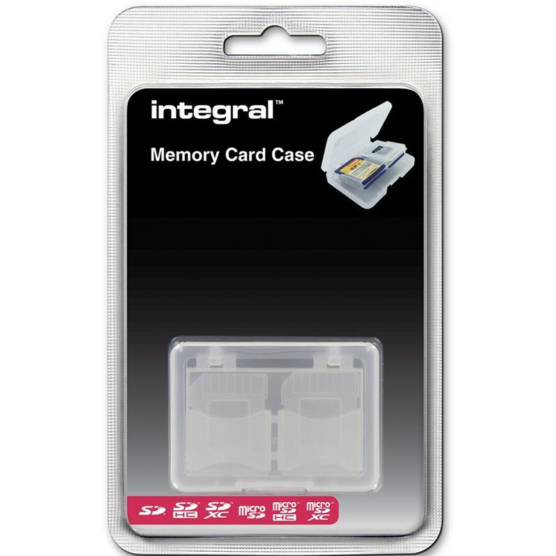 Integral 4X Memory Card Case